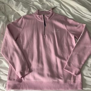 Light purple Vineyard Vines kids XL quarter zip